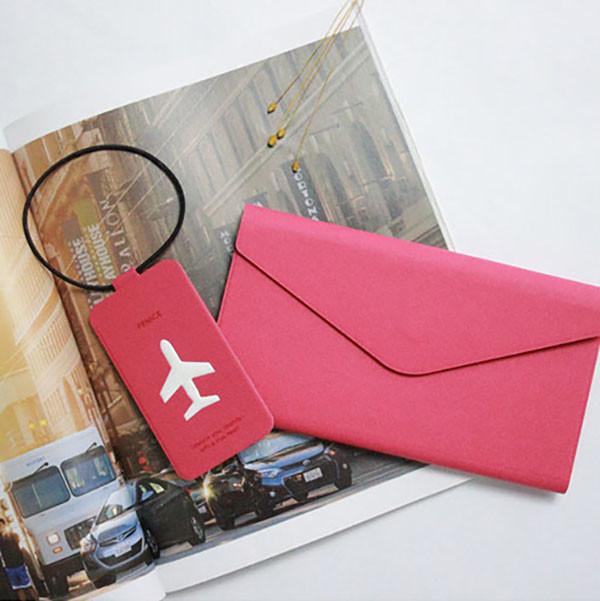 fenice多功能鈔票式護照包 l size(共3色)