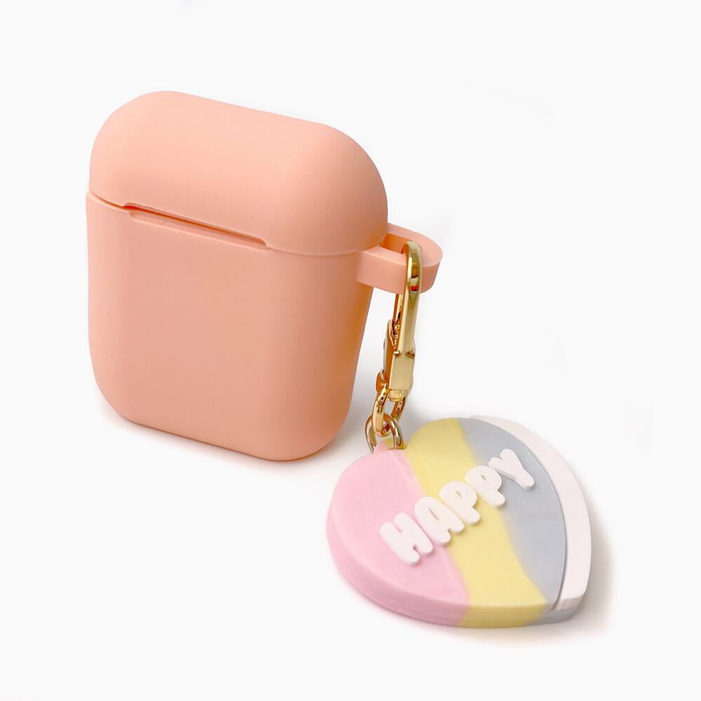 candiesairpods收納盒(粉-happy heart candy)