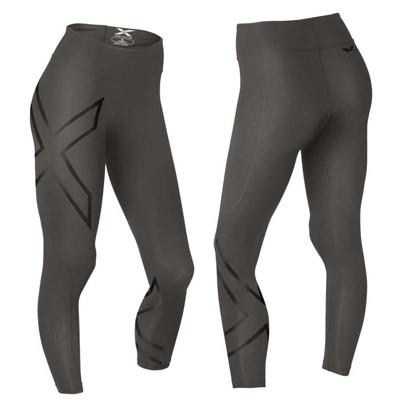 2XU 70D女用中腰款反光系列壓縮長褲 (10折)