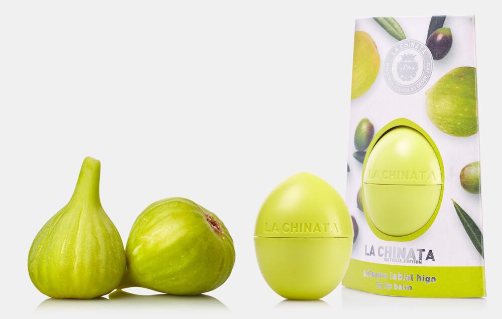 la chinata 希那塔三色天然橄欖油潤唇膏-嫩芽綠