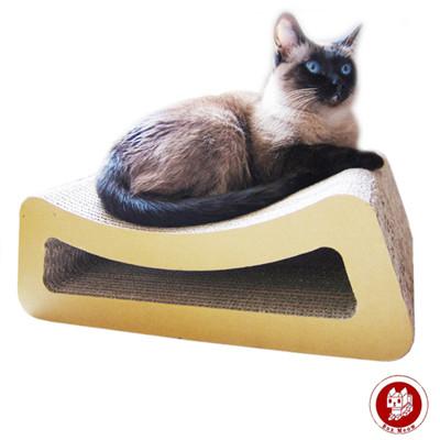 Box Meow 瓦楞貓抓板-小躺椅 (CS012) (7.1折)