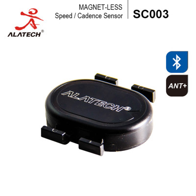 ALATECH SC003藍牙/ANT+自行車雙頻無磁速度踏頻器 (3.3折)