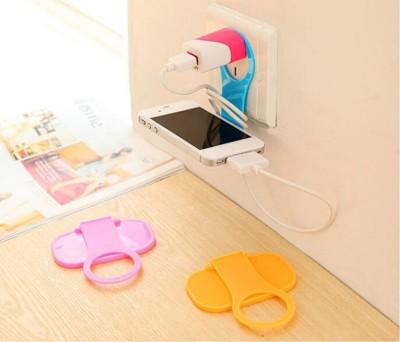 數位風潮 創意可折疊手機充電支架 便攜手機充電伴侶 -顏色隨機 A010100037 (0.8折)