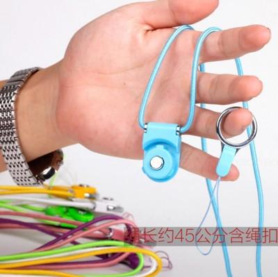 iphone 6 plus 手機 掛繩 項鍊 吊繩 掛脖 指環扣 -顏色隨機 A010100121 (2折)