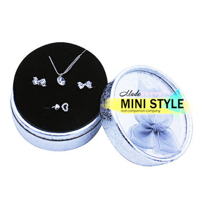 銀絲帶精品 戒指 盒 項鍊 盒 飾品盒 收納盒 禮物盒 耳環 戒指 收納 B089900031 (2折)