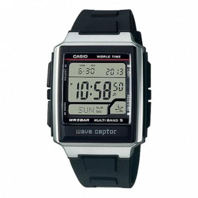 CASIO日本限定 世界5局免對時電波錶WV-59J-1AJF 方型俐落款/g-shock 百搭黑 (9.2折)