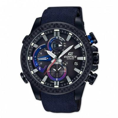 【公司貨】EDIFICE EQB-800TR-1A 高科技藍牙智慧錶款 太陽能 EQB-800TR- (9.1折)