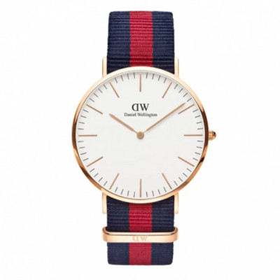Daniel Wellington DW 瑞典簡約風格 40mm/尼龍/經典款/DW00100001 (6.7折)
