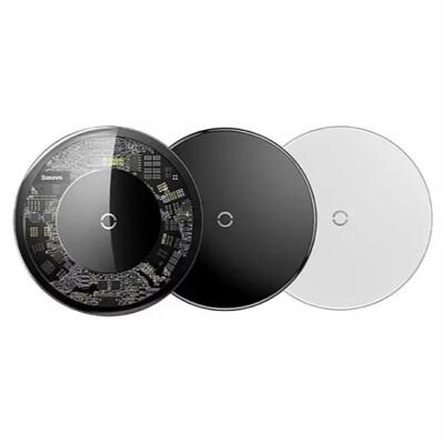 【Baseus】極簡無線充電盤 充電片 感應貼片 無線充電【迪特軍】 (6.7折)