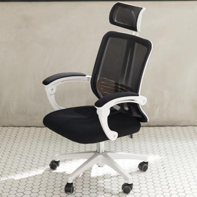 IDEA-尊爵版舒適護腰包覆高背電腦椅-PU靜音滑輪 (4.6折)
