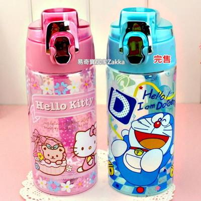 冷水壺 創意卡通彈跳水壺600ml 附茶漏 粉色 單入/款式隨機 【金奇】 (3.2折)