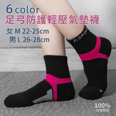 【DR.WOW】MIT足弓護足輕壓氣墊短襪男女款 (1.5折)