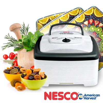 美國Nesco方型增量40%無定時食物乾燥機FD-80 (8.9折)