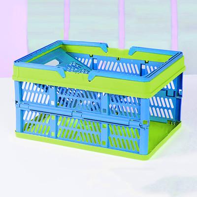 可折疊購物籃 買菜籃 提籃 野餐籃 (5.8折)