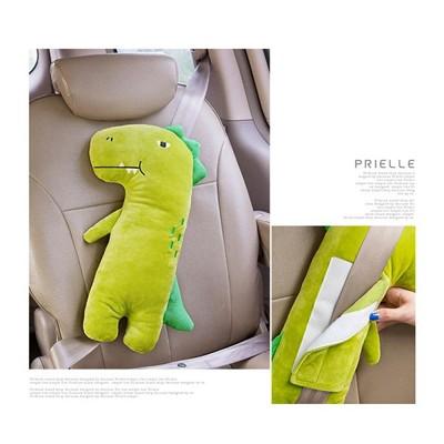 韓國可愛動物汽車安全帶護肩卡通抱枕 BBJ79 (5.8折)
