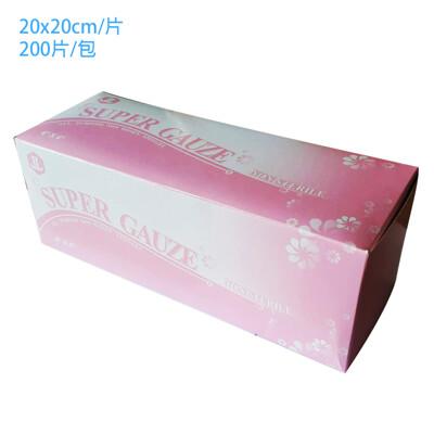 口罩墊片 口罩墊 水針不織布紗布塊 200片/盒 (5.6折)