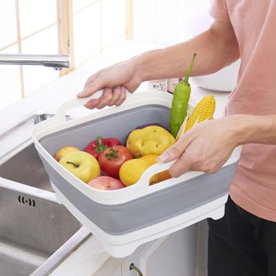 可折疊蔬果清洗移動水槽 (5.9折)