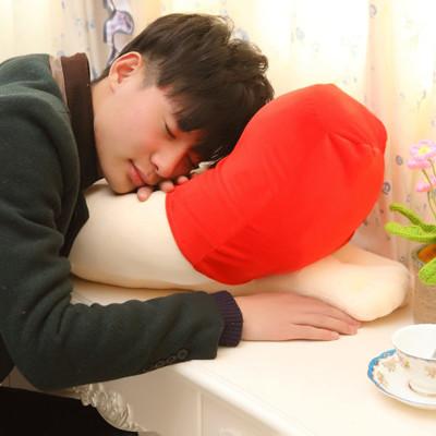 女友大腿抱枕 趴睡枕 美女大腿枕 (僅紅色款) (7.8折)