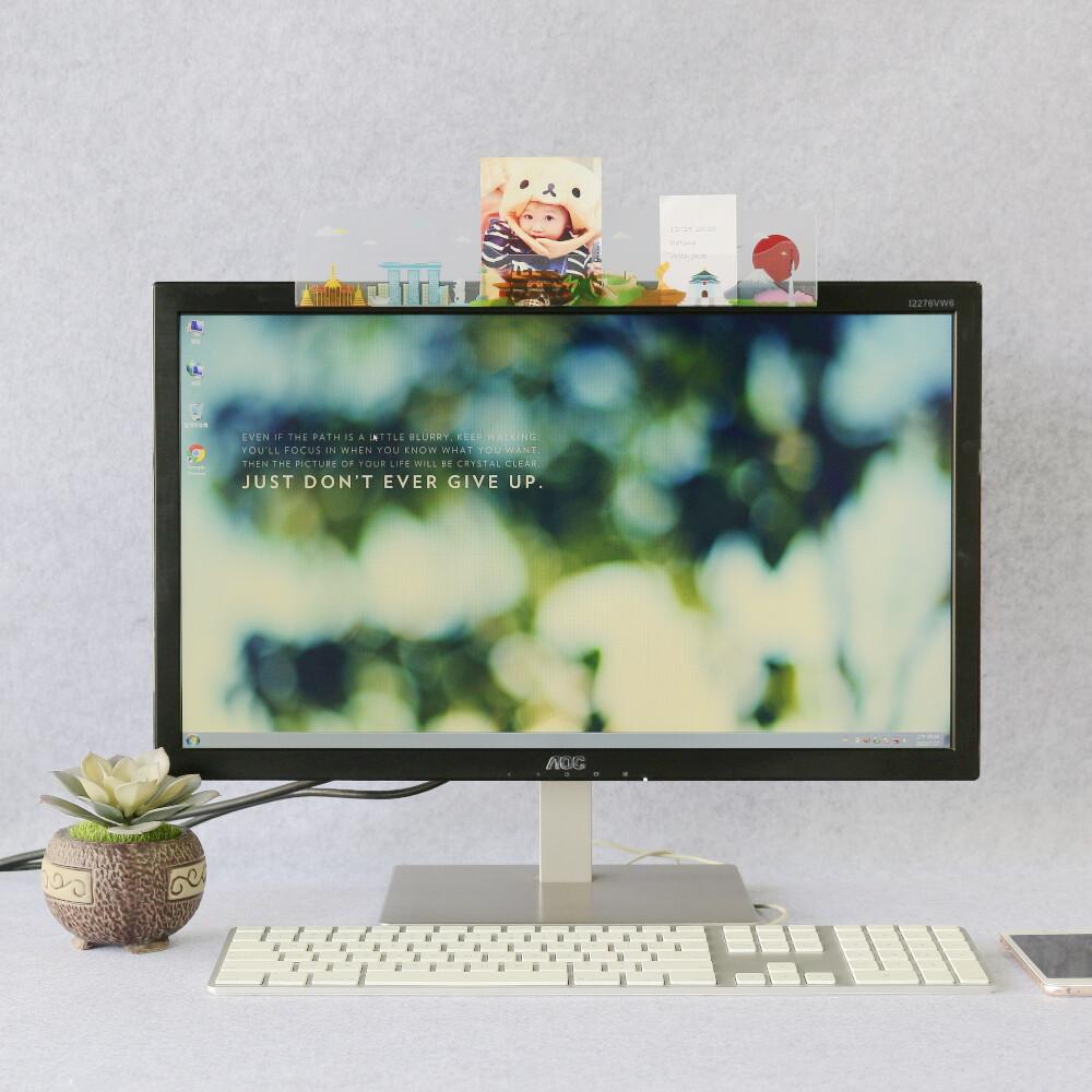 oshi歐士電腦螢幕留言備忘版-城市旅行系列(亞洲歐洲美洲任選23入)