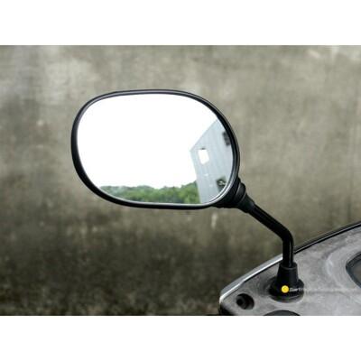 機車後視鏡-大 單支右邊 正牙 m8_8mm 單支 機車後照鏡 光陽三陽suzuki可參考 2500 (10折)