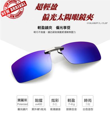 超輕盈偏光太陽眼鏡夾 (3折)