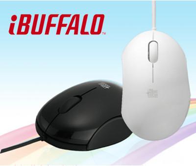 Buffalo 青春逗系列 藍光LED 有線滑鼠 (6.9折)