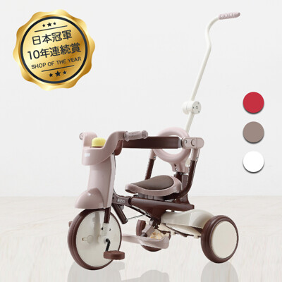 【升級款】日本iimo #02兒童三輪車-三色 (6.5折)