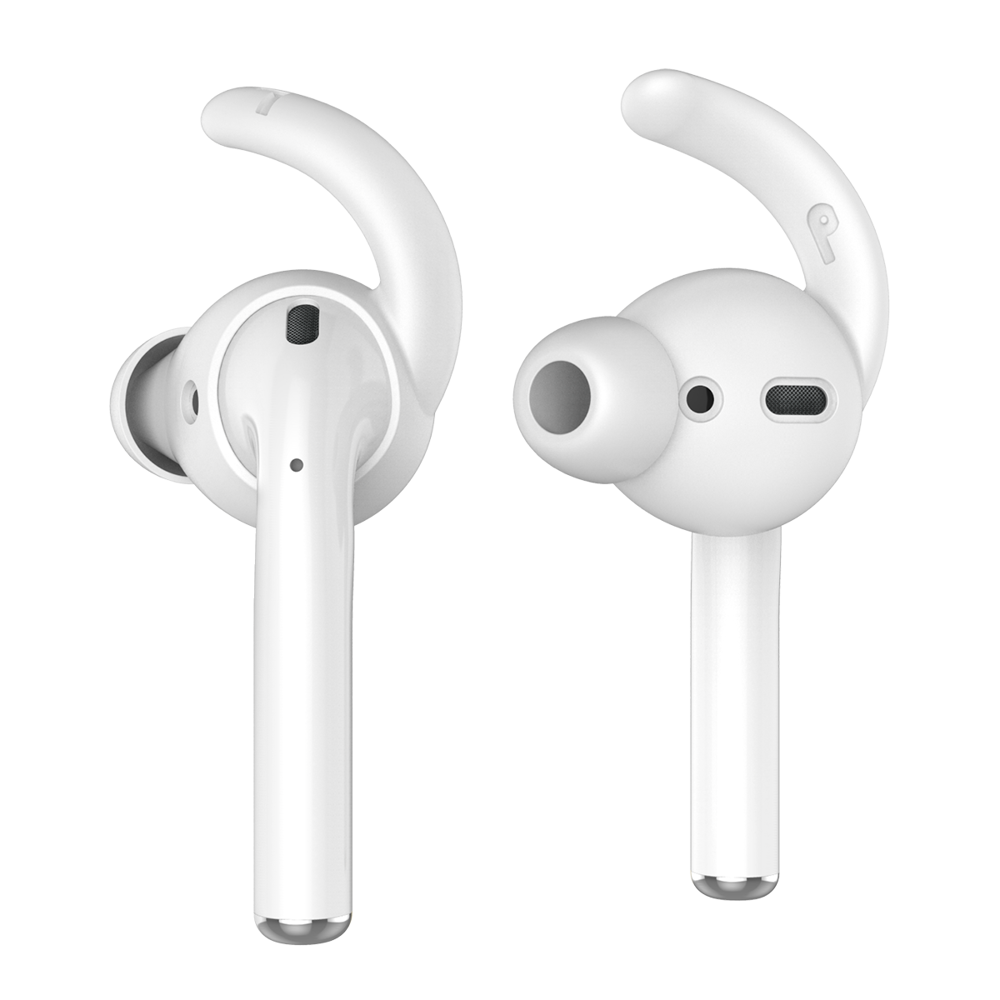 ahastyle 提升音質 防掉 airpods/earpods 通用耳掛 入耳式耳機套 (兩組入)