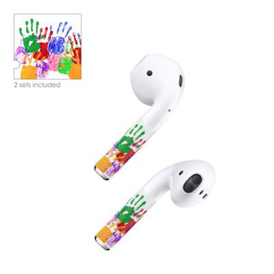 AhaStyle品牌店 AirPods 彩色貼紙 貼膜 PodColors 蘋果耳機周邊 (9.9折)