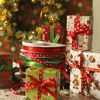 禮物包裝紙 聖誕節包裝紙 平均顏色隨機出貨 (3.6折)