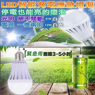 LED智慧省電充電燈泡12W (2.2折)