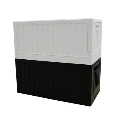 樹德貨櫃收納椅 摺疊籃 收納箱 箱子 櫃子 2色 MIT台灣製 (9折)