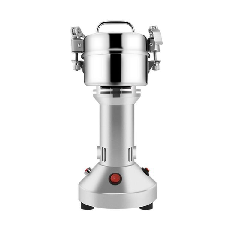 免運~研磨機 中藥材粉碎機五谷雜糧打碎磨粉機打粉機超細家用小型乾磨研磨機