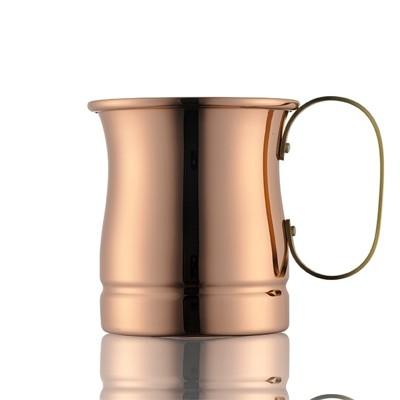 日本製 日本銅器 340cc/340ml 咖啡杯/啤酒杯/銅杯/水杯/茶杯   銅製馬克杯 (10折)