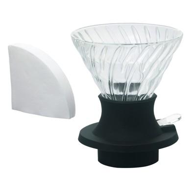 hario 浸漬式 v60濾杯 ssd-360-b 玻璃材質 日本製  聰明濾 (10折)
