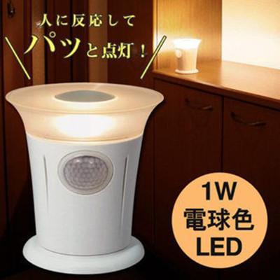 【樂活動】日本ELPA和風造型人體感應LED燈(PM-L700) (9折)