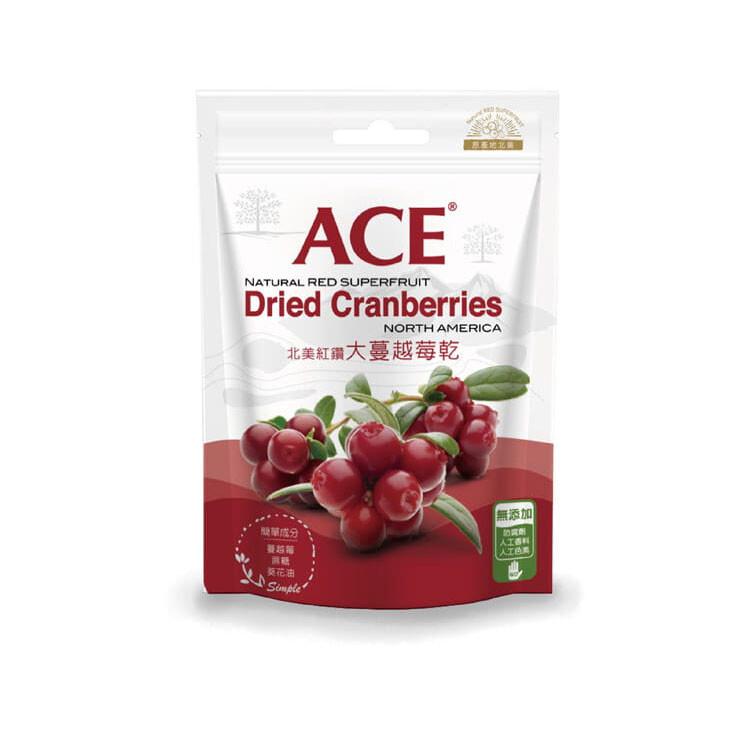ace北美紅鑽大蔓越莓乾-180g (三入組)