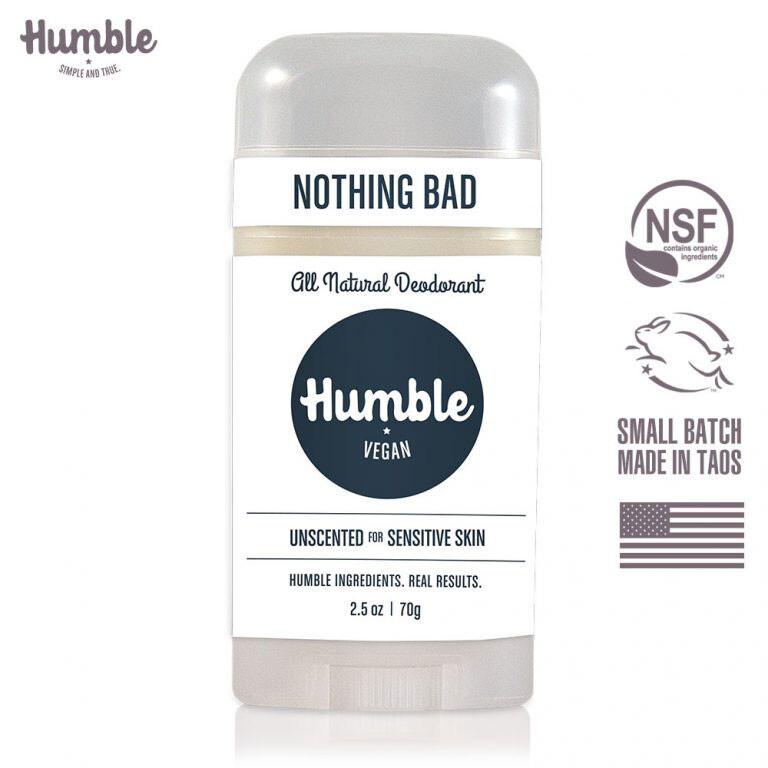 美國humble水晶體香膏  純素無香 70g