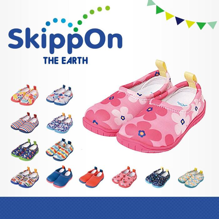 日本 skipponiseal vu系列兒童休閒機能鞋北歐花朵
