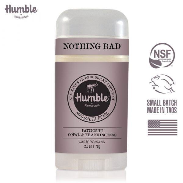 美國humble水晶體香膏  廣霍香 & 乳香 70g