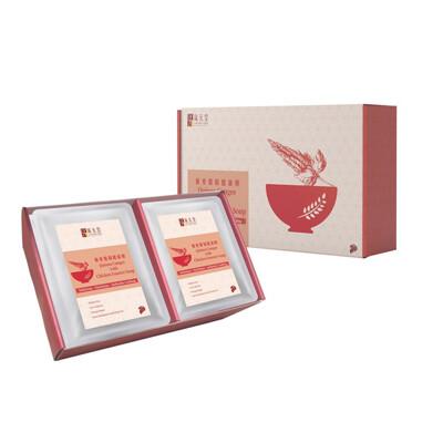 新加坡 琉元堂 藜麥雞精健康粥9入禮盒 (300g/包9入) (9.6折)