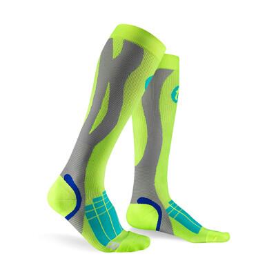 【Titan太肯運動】壓力運動襪 Elite螢光綠_ 久站族小腿救星_ (10折)