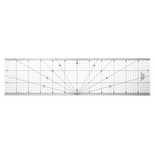 edc1560 專業防刮拼布尺 60x15cm