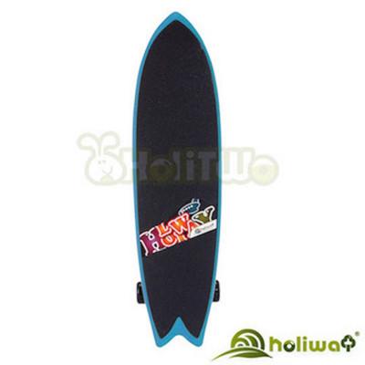 【Holiway】MIT三輪衝浪滑板 送MIT護具(請備註尺寸:XS.M.L)+運動水壺 (7.4折)