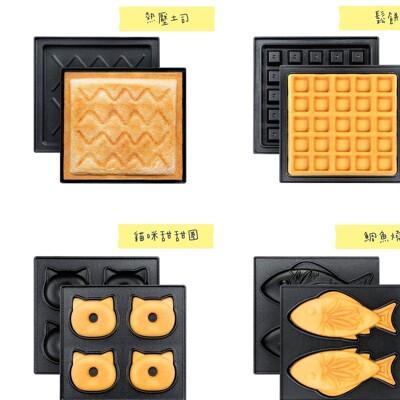 SAKURA 華夫餅機烤盤加購 三明治烤盤/ 鬆餅烤盤/甜甜圈烤盤/鯛魚燒烤盤