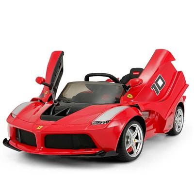 法拉利兒童電動車 正版授權 兒童騎乘 超跑 (紅色) (6.2折)