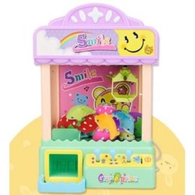 娃娃機台 迷你夾娃娃機 抓糖果機 聲光玩具 兒童玩具 桌上型 電動 扭蛋機 (5折)
