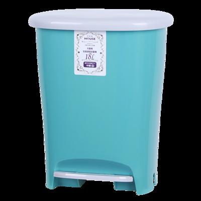 和菓子18L踏式垃圾桶-大(顏色採隨機出貨) (7折)