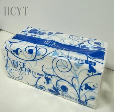 現貨-整袋10包組-優活120抽衛生紙全新包裝,免費加量20%不加價! (9.2折)
