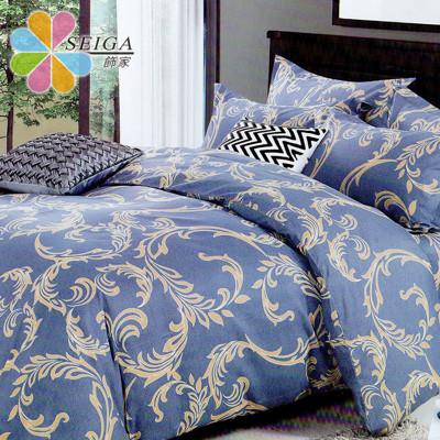 Seiga 雙人/加大活性絲柔棉六件式兩用被床罩組 台灣製 (好夢系列,雙人/加大均一價) (4.8折)